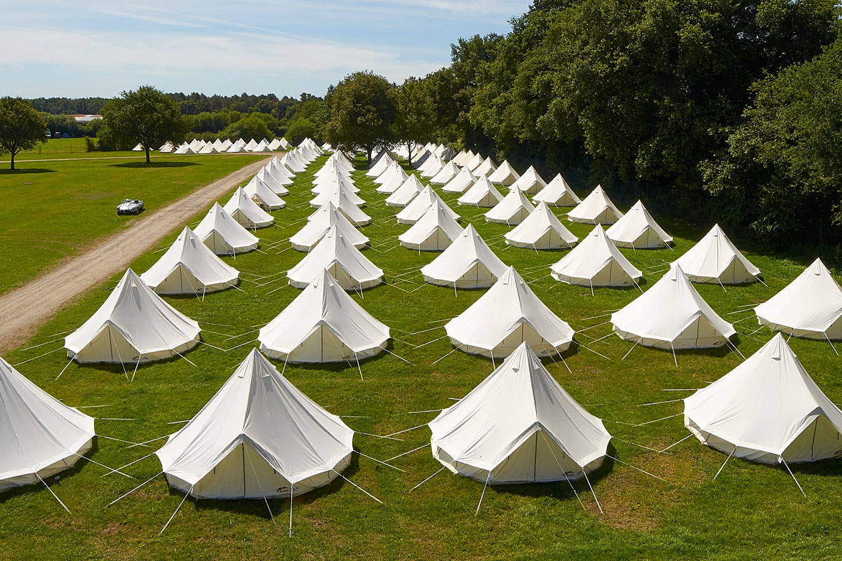 Glamping Tent Hire from Campeazy