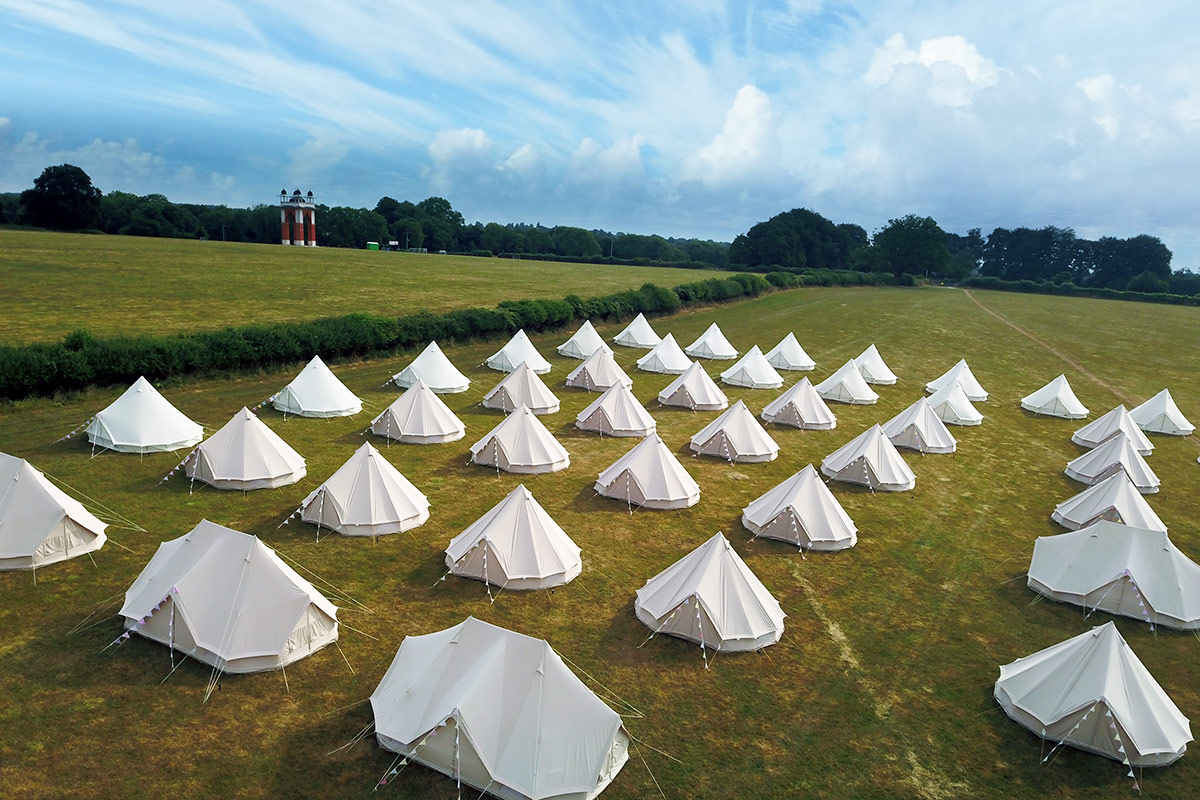 Bell Tent Hire from Campeazy