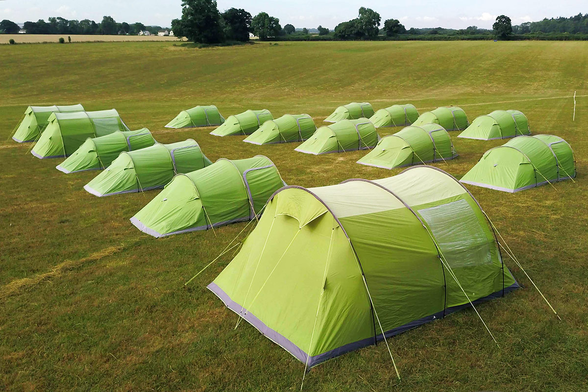 Pre-Pitched Tent Hire for Events